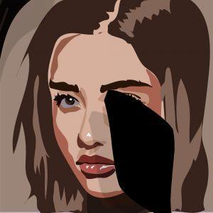 AI Teenager girl